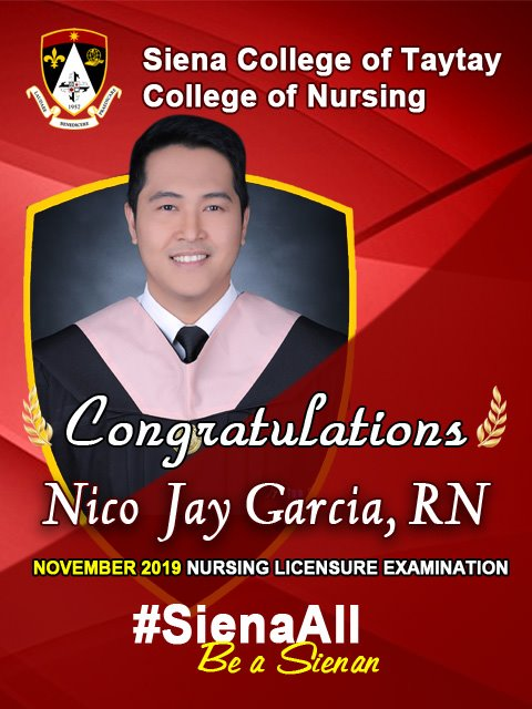 Congratulations to our new registered nurses!